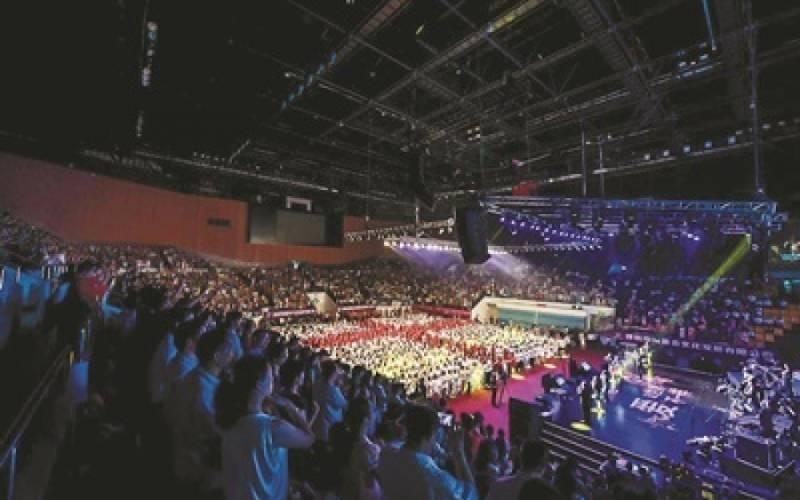 深圳的敬拜讚美 教會界第一次