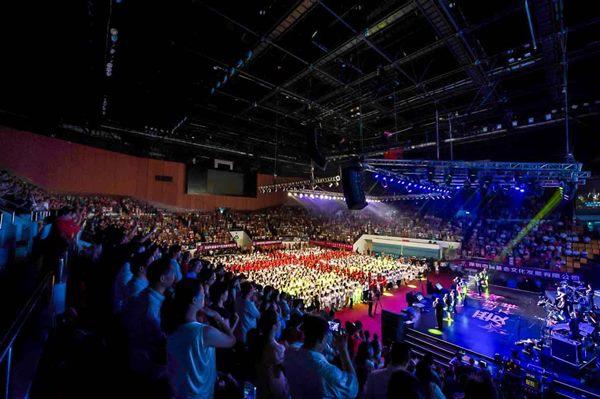 讚美之泉2014亞洲巡迴,大陸深圳是其中一站。